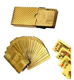 Dhol Dhamaka Golden Playing Cards