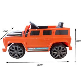 Buy Oh Baby Baby Battery Operated Bmw I8 Orange Color With Remote