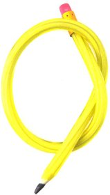 Leilei Yellow Flexible Pencil - Pack of 10