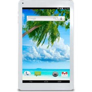 Ambrane 3G Calling Tablet AQ-11 Dual Sim (1GB  8GB) - White-10.1 Inch