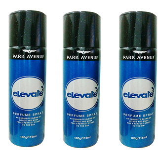 Park Avenue Elevate Deodorant Pack of 3 Of 116ml each For Men Women