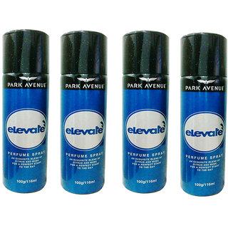 Park Avenue Elevate Deodorant Pack of 4 Of 116ml each For Men Women