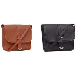 Borse Multicolor Plain Sling Bag