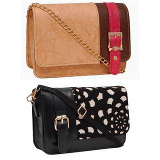 1f6c019dd2 Buy Borse Multicolor Plain Sling Bag Online - Get 63% Off