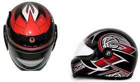 Full Face Helmet with ISI Mark