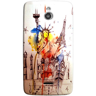 Sketchfab Statue Of LibertyTotu TPU Ultra Thin Case Cover For Infocus M2 - Clear