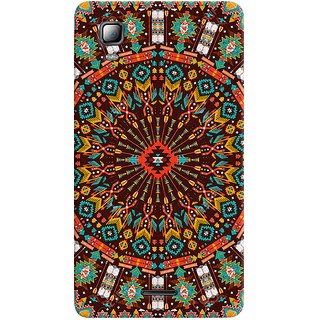 Sketchfab Circle Pattern PREMIUM LATEST DESIGNER PRINTED COVER SERIES For Micromax A102 Canvas Doodle 3 Mobile Phone With PROTECTIVE SLIM LIGHT HARD MATTE FINISH BACK CASE And EMBEDDED Features