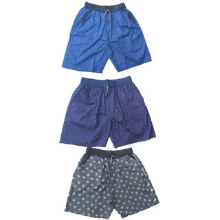 Mj Fashion by Men cotton boxer and shorts pack of 3