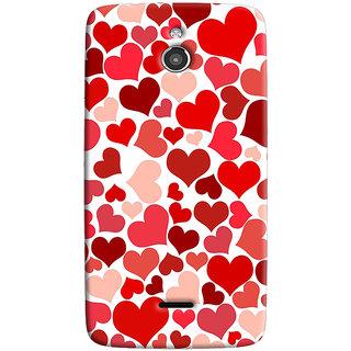 Sketchfab Heart PatternTotu TPU Ultra Thin Case Cover For Infocus M2 - Clear