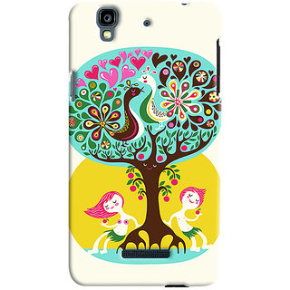 Sketchfab Tree PREMIUM LATEST DESIGNER PRINTED COVER SERIES For Micromax Yureka  Mobile Phone With PROTECTIVE SLIM LIGHT HARD MATTE FINISH BACK CASE And EMBEDDED Features
