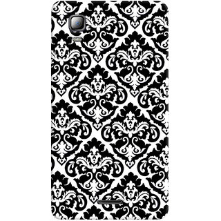 Sketchfab Black And White Pattern PREMIUM LATEST DESIGNER PRINTED COVER SERIES For Micromax A102 Canvas Doodle 3 Mobile Phone With PROTECTIVE SLIM LIGHT HARD MATTE FINISH BACK CASE And EMBEDDED Features