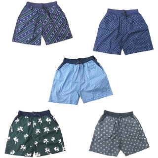 Mj Fashion by men cotton boxer and shorts pack of 5