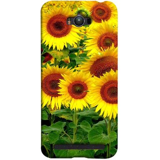 FUSON Designer Back Case Cover For Asus Zenfone Max ZC550KL :: Asus Zenfone Max ZC550KL 2016 :: Asus Zenfone Max ZC550KL 6A076IN (Field Of Bright Happy Sunflowers Outside Oil Food)