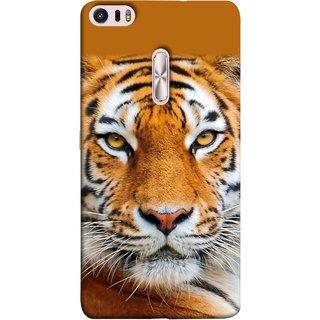 FUSON Designer Back Case Cover For Asus Zenfone 3 Ultra ZU680KL (6.8 Inch Phablet) (Wild Jungle Tigers Whisker Roaring Sitting Safari India)