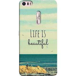 FUSON Designer Back Case Cover For Asus Zenfone 3 Ultra ZU680KL (6.8 Inch Phablet) (Adorable Wallpapers Best Quotes Enjoy Together Happy)