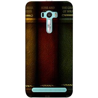 FUSON Designer Back Case Cover For Asus Zenfone Selfie ZD551KL (Grapes Of Wrath Sons And Lovers Arthur Koestler)