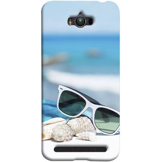 FUSON Designer Back Case Cover For Asus Zenfone Max ZC550KL :: Asus Zenfone Max ZC550KL 2016 :: Asus Zenfone Max ZC550KL 6A076IN (Summer Vacation Beach Mobile Wallpaper Blue Sky )