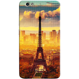 Sketchfab Eifil Tower PREMIUM LATEST DESIGNER PRINTED COVER SERIES For Gionee S6 Mobile Phone With PROTECTIVE SLIM LIGHT HARD MATTE FINISH BACK CASE And EMBEDDED Features