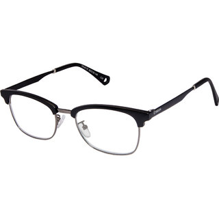 f02130fff69 Buy Cardon Matte Black Gunmetal Clubmaster Full Rim EyeGlass Online - Get  76% Off