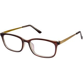 794952260e Buy Cardon Brown Rectangular Full Rim EyeGlass Online - Get 74% Off