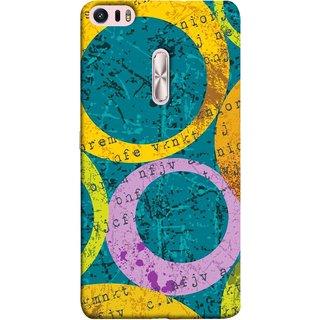 FUSON Designer Back Case Cover For Asus Zenfone 3 Ultra ZU680KL (6.8 Inch Phablet) (Nila Pila Circles Tiles Bright Cool Typography )