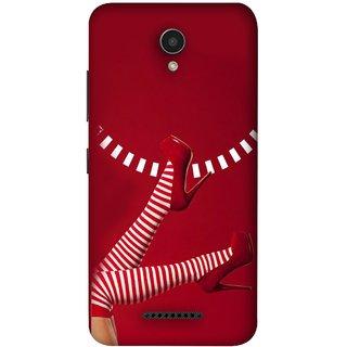FUSON Designer Back Case Cover For Lenovo Vibe B (Nice Design Flowers Table Cloth Curtain Cloths )