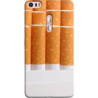 FUSON Designer Back Case Cover For Asus Zenfone 3 Ultra ZU680KL (6.8 Inch Phablet) (Cigarettes Case White Tobacco Foreign Lighter Light)