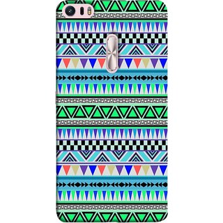 FUSON Designer Back Case Cover For Asus Zenfone 3 Ultra ZU680KL (6.8 Inch Phablet) (Tribal Patterns Colourful Eye Catching Verity Different )