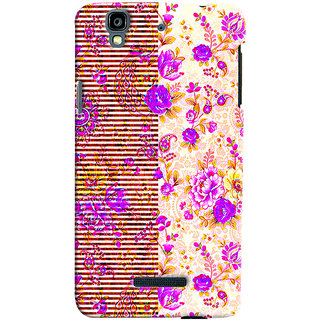 Sketchfab Pink Flower PREMIUM LATEST DESIGNER PRINTED COVER SERIES For Micromax Yureka  Mobile Phone With PROTECTIVE SLIM LIGHT HARD MATTE FINISH BACK CASE And EMBEDDED Features