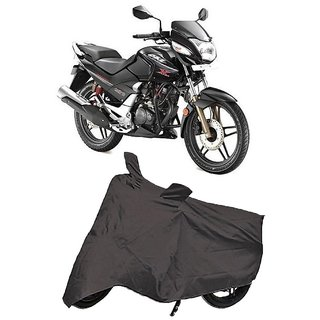 De Autocare Premium Quality Grey Matty Two Wheeler Bike Body Cover For Hero CBZ