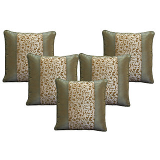Home Royal Patch Floral Cushion Cover