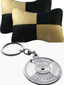 Combo Neck cushion + 50Yr Keychain