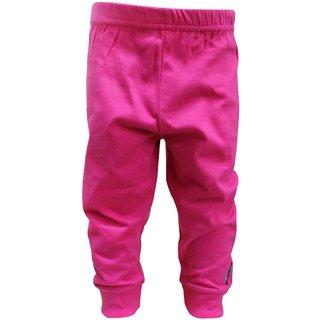 Tumble Pink Full Length Plain Leggings
