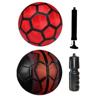 Kit of Strike Duro Red + Mercurial Black/Red with Air Pump & Sipper