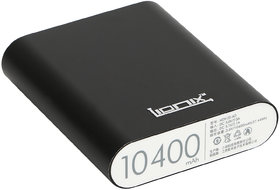 Lionix   Ultra Fast 10400 mah power bank with 3 month manufacturer warranty (Black)