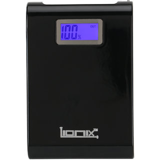 Lionix  High Speed Ultra Display PN 913 12000 mAh Power Bank Black (with 6 months manufacturing warranty)