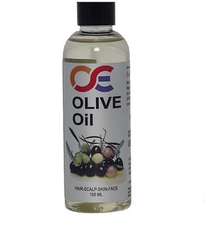 OSE Olive Carrier Oil 100 ML - 100 Pure Natural Cold Pressed Carrier Oil - Ideal for hair loss Treatment, Hair Growth