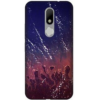 Akogare 3D Back Cover For Motorola Moto M BAEMOM1629