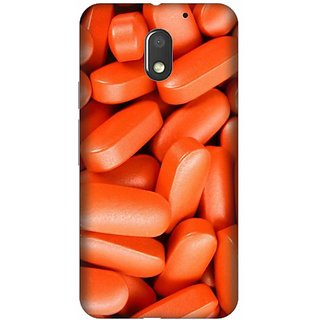 Akogare 3D Back Cover For Motorola Moto E3 Power BAEMOE3P1357