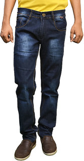 Style and You Straight Blue Denim for Men
