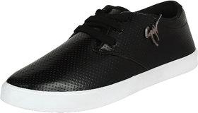 Earton Men Black-748 Sports Running Shoes