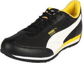 Puma Velocity Tetron Black & Yellow Men's Running Shoes