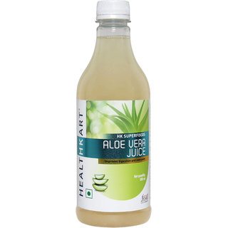 HealthKart Aloe Vera Juice extracted from Indica Variety with amino acids Vitamins & minerals 500ml