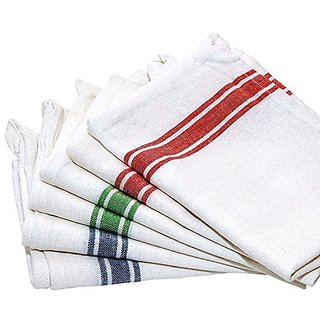Shop By Room Floor Duster Wet Dry Cotton Cleaning Cloth / Mop 20 x 20 inch (Pack of 4)