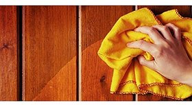 Shop By Room Super Soft Flannel Yellow Duster - Set of 3 (Size 22quotx26quot)