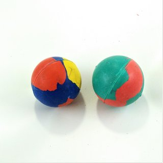 S N ENTERPRISES SNE1111 SMALL HARD BALL COMBO OF 2  (COLOR ASSORTED, PACK OF 2) FOR PETS