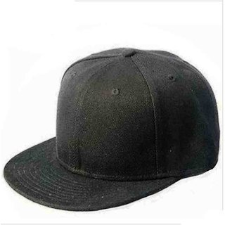 Techamazon Black caps for Men / Hiphop cap /Snapback cap//hip hop hat-1qty