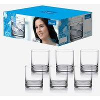 Ocean Glass Set (205 ml, Clear, Pack of 6)