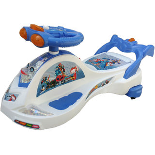 Oh Baby Baby Frog Shape With Back Support Musical Light Magic Car For Your Kids se-mc-15