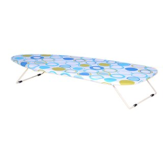 Table Top Small Ironing Board Table Little Champ 73 x 33 cm Circle - Eurostar